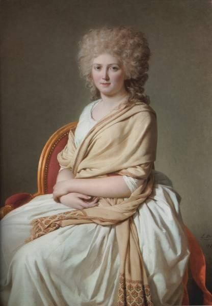 David Portrait of Anne Marie Louise Thelusson